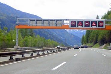 Diaľnice v Rakúsku