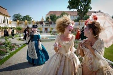 Veľká baroková slávnosť na zámku Schloss Hof
