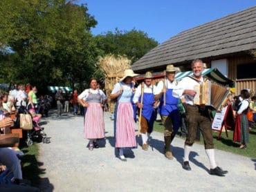 Marchfeldská dožinková slávnosť na zámku Schloss Hof