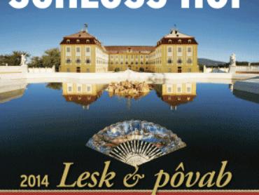 """""""Lesk a pôvab"""" na zámku Schloss Hof  – Začiatok sezóny 2014"""