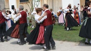 Turíce na zámku Schloss Hof
