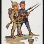 Postkarte_Kindersoldaten (c) SKB Schoenbrunn Kultur- und Betriebsges.m.b.H.
