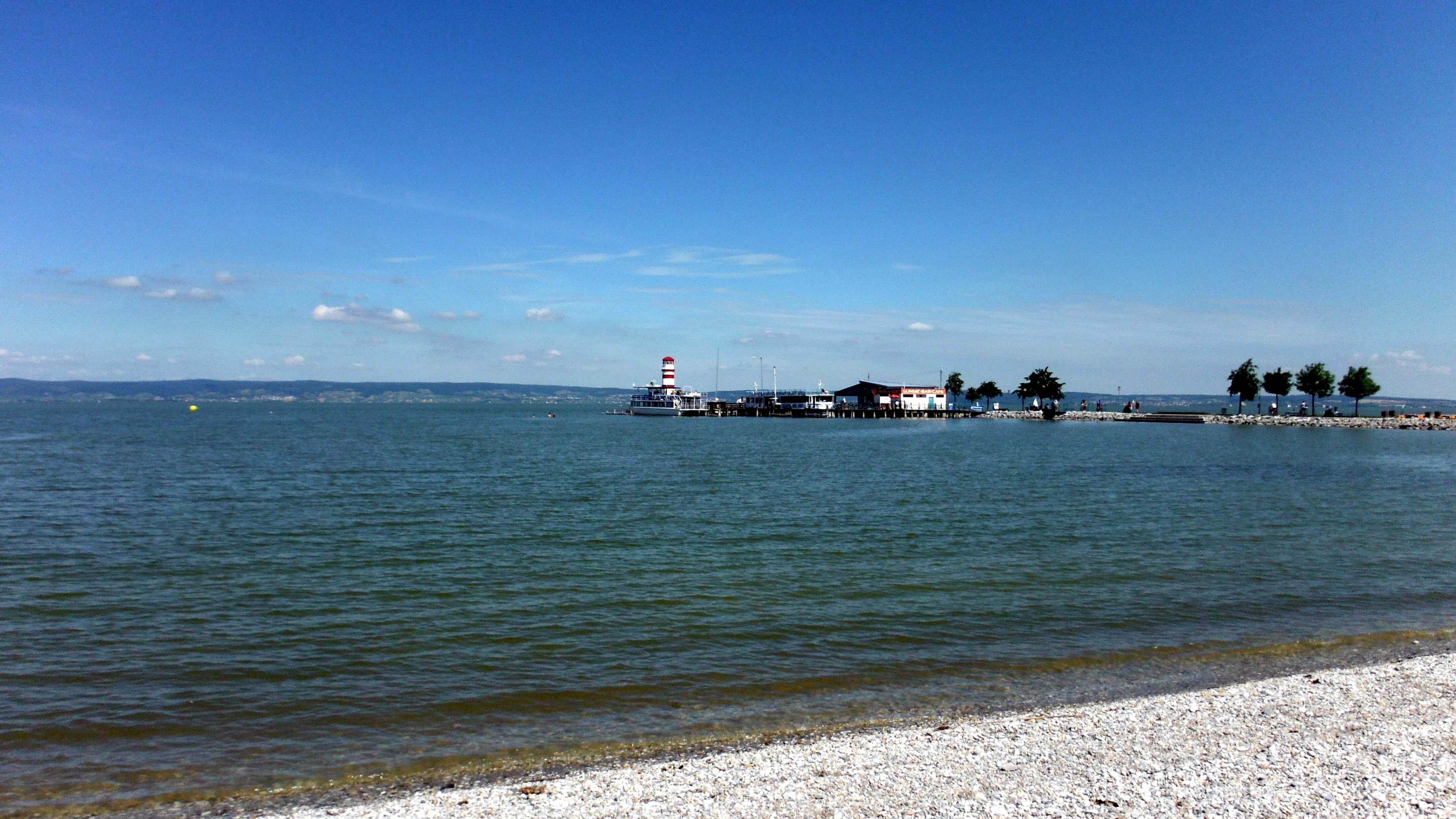 Podersdorf am See - najkrajšia pláž na Neziderskom jazere ...