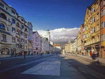 Víkend v Innsbrucku