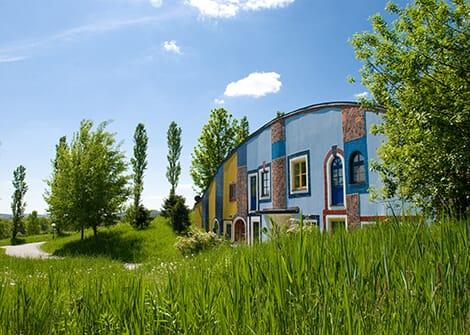 Augenschlitzhaus
