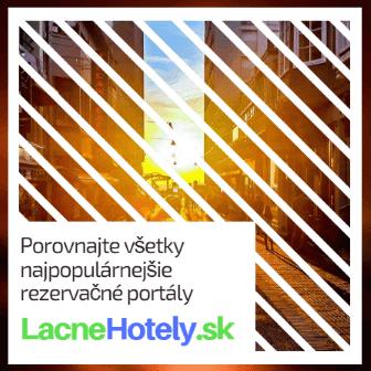 Porovnajte všetky najpopulárnejšie rezervačné portály - LacneHotely.sk