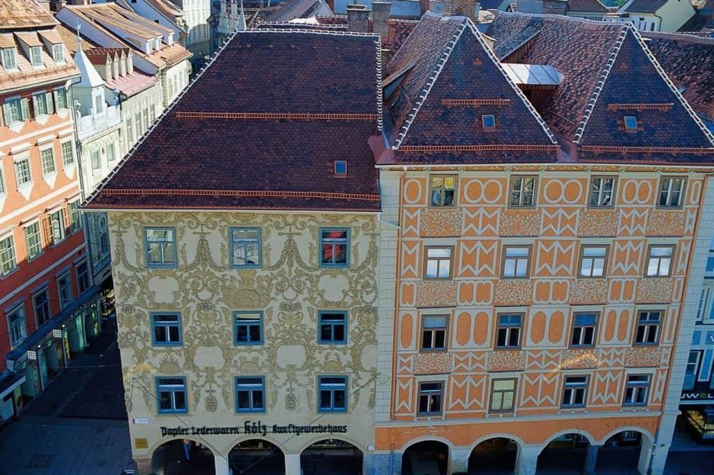 Hauptplatz luegghaus jpg (c) Graz Tourismus - Hans Wiesenhofer