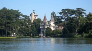 Zámocký park Laxenburg a hrad Franzesburg