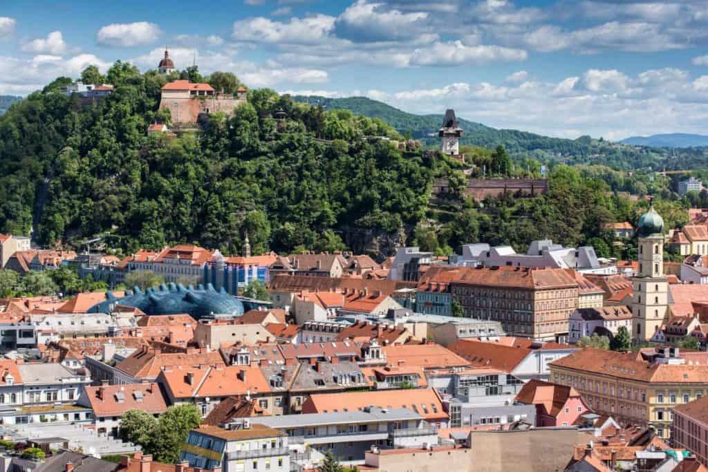 Schlossberg (c) Graz Tourismus - Harry Schiffer