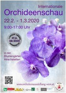 Výstava orchideí Viedeň 2020