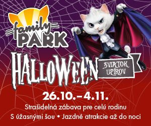 Halloween vo Familyparku